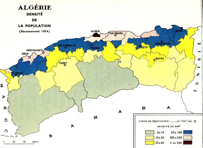 Carte Algerie Population.Geographie De L Afrique Du Nord Le Titteri Des Francais 1830