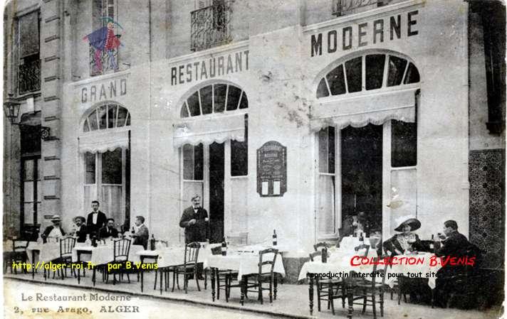 rue arago restaurant moderne http alger roi fr