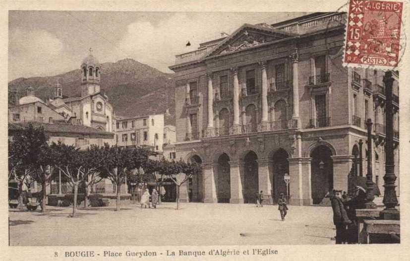 Bougie eglise place gueydon banque de l 39 algerie http for Banque exterieur d algerie
