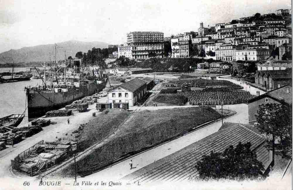 bougie ville et port les quais http alger roi fr