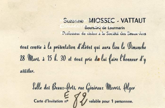 Carte De Visitesuzanne Moissec Vattautprofesseur Violon