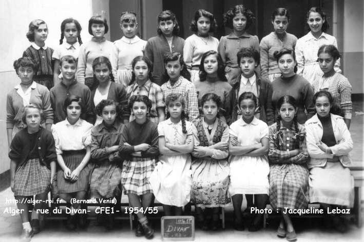 Rue du divan fin d 39 tudes 1954 1955 photos de classes for Divan 1 5 plaza