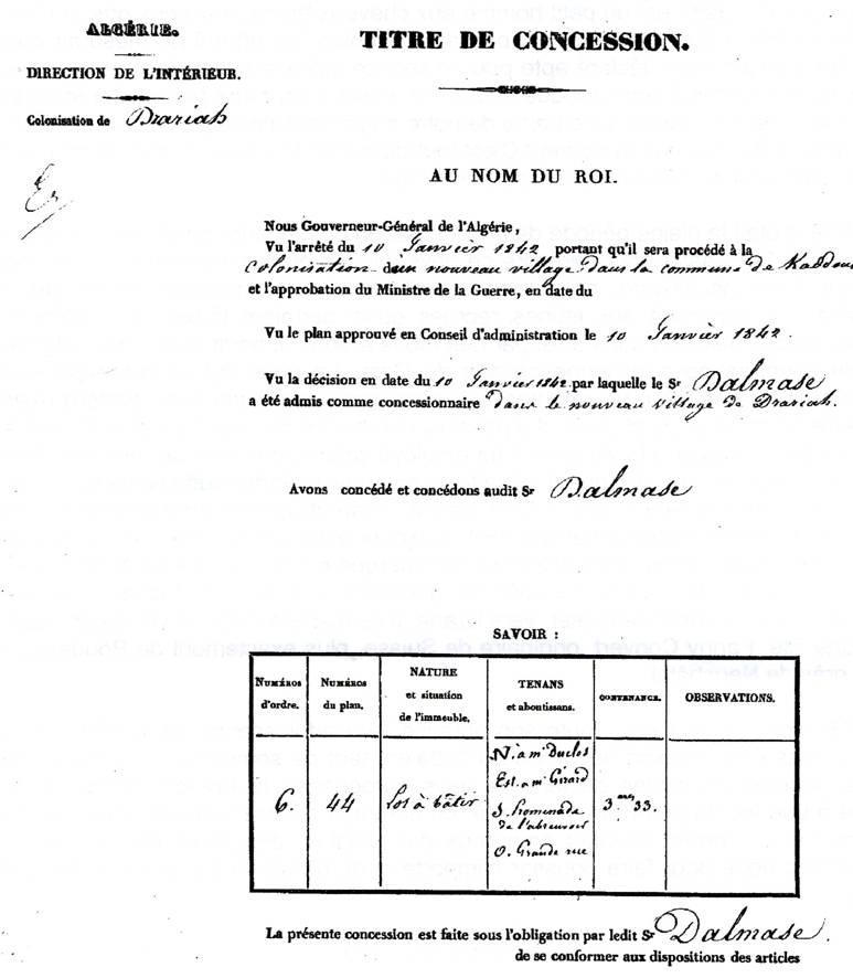 Les six communes de la ceinture du fahs draria http alger - Titre de propriete maison ...