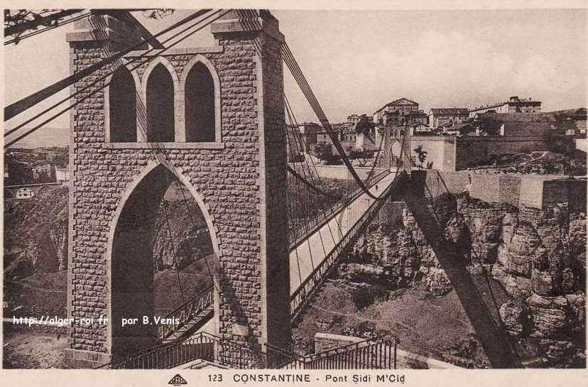 Constantine cirta la ville aux ponts algerianiste 122 http for Piscine sidi m cid constantine
