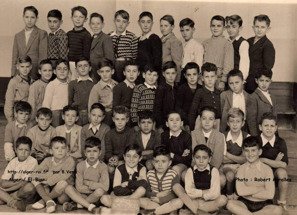 Primaire >> photos de classe,cm2,1947-1948,ecole primaire,El-Biar;alger-roi.fr