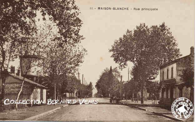 la rue principale de maison blanche proximit de l
