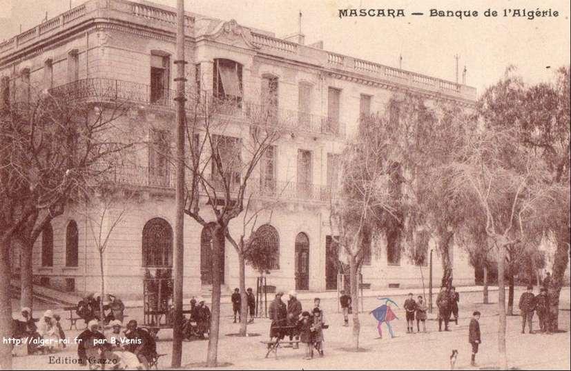 Mascara la banque d 39 algerie http alger for Banque exterieur d algerie