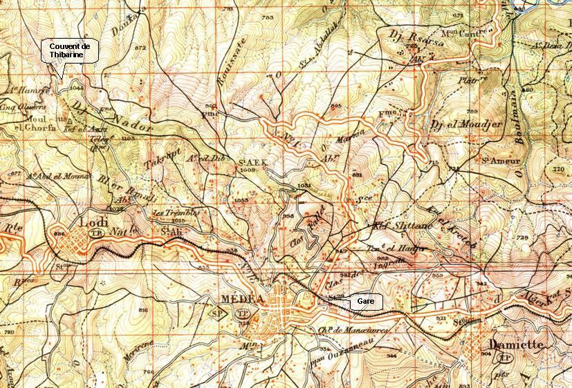 Carte Geographique De Lalgerie.Le Titteri Medea Le Cadre Geographique Alger Roi Fr Venis