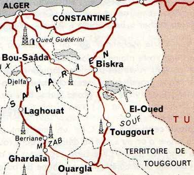 Ouarglaoasissedrata Sur La Piste Delgoleahttpalgerroifr - Ouargla map