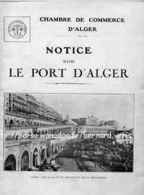 notice sur le port d 39 alger dit e par la chambre de