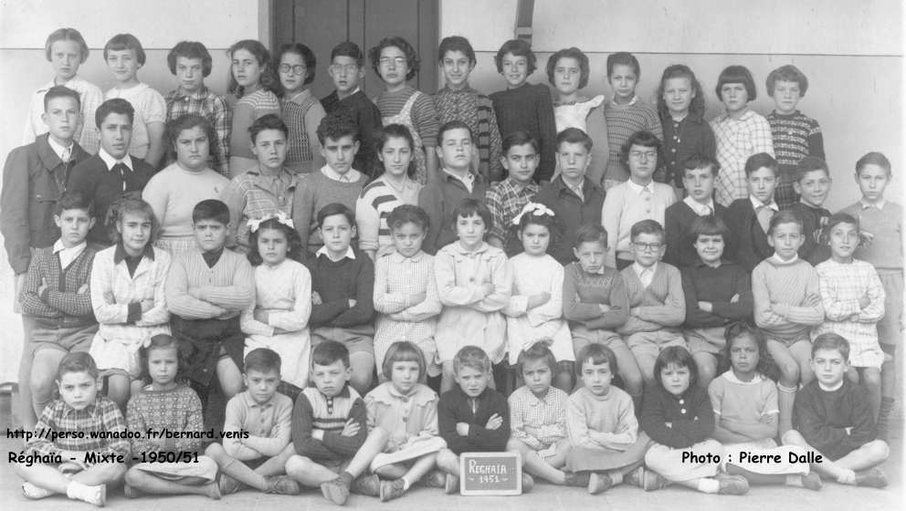 r u00e9ghaia classe mixte 1950