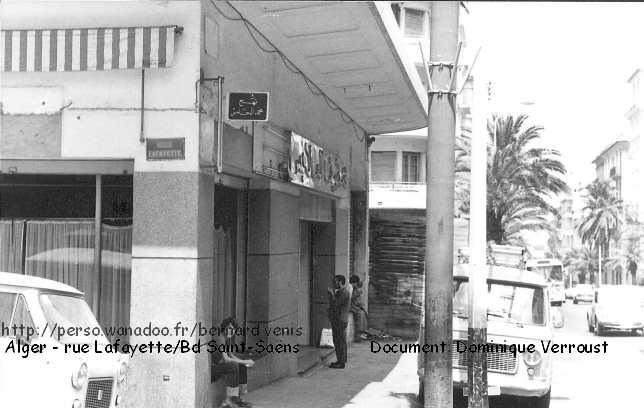 alger la rue lafayette entre les boulevards saint sa ns et du t lemly quartier rue michelet. Black Bedroom Furniture Sets. Home Design Ideas