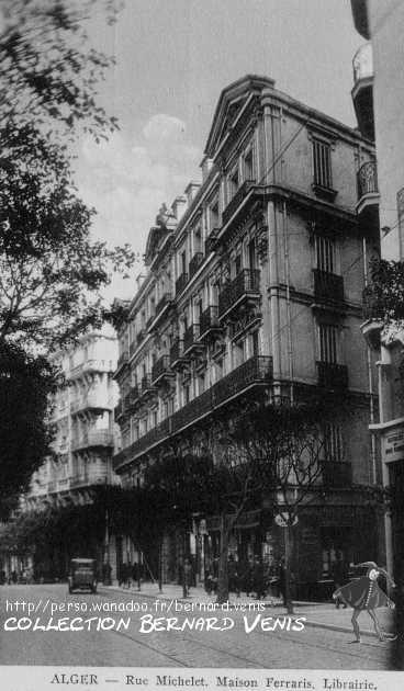 Rue michelet alger librairie ferraris au 43 chaix http for Libraire maison