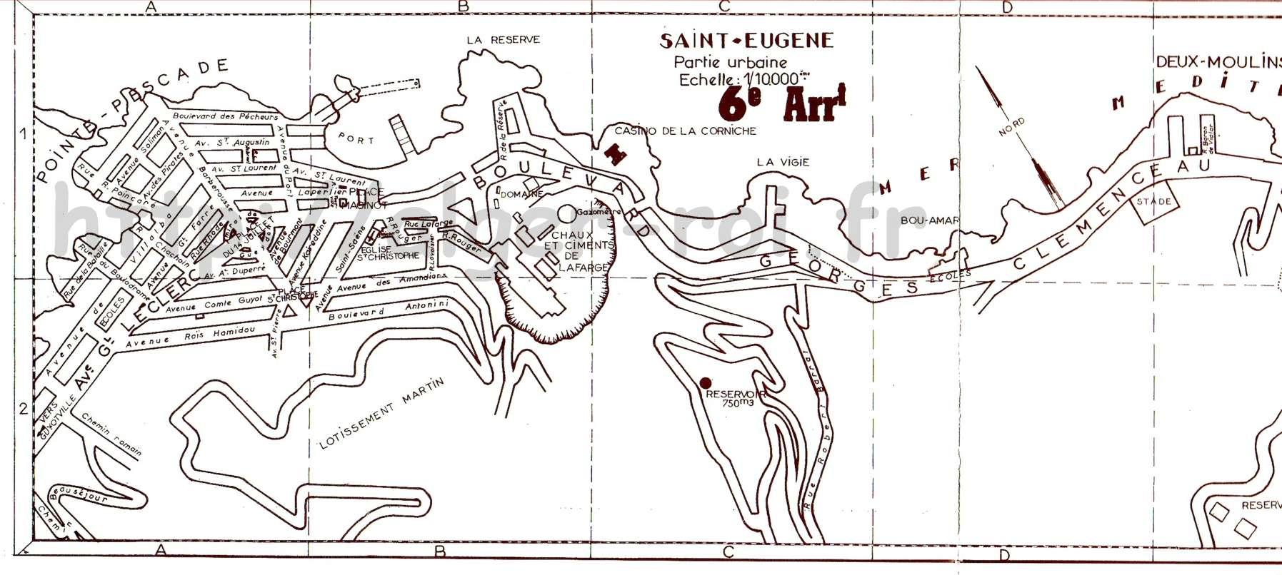 Plan de saint eugene deux moulins pointe pescade bains for Plan de moulins