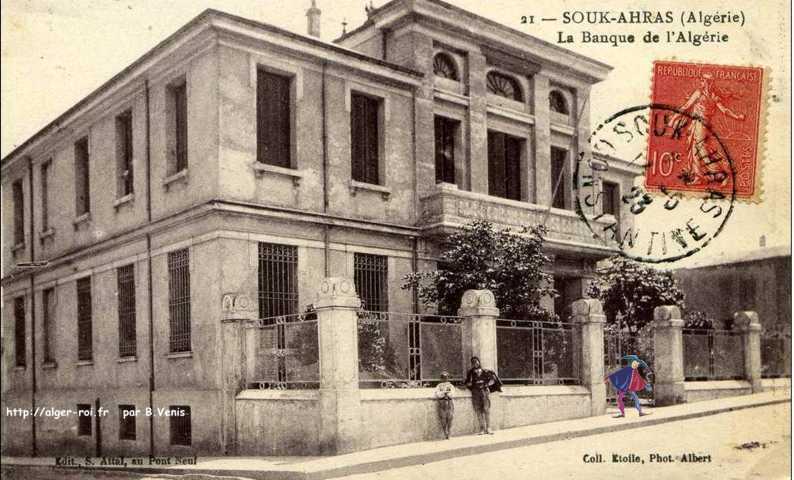 Souk ahras taghaste la banque d 39 algerie http alger for Banque exterieur d algerie