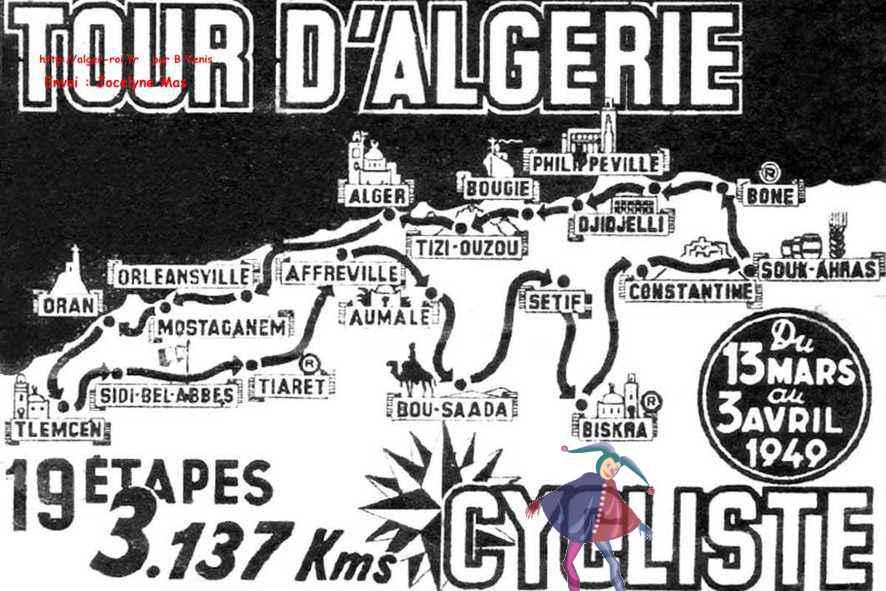 Tour d'Algérie cycliste en 1949