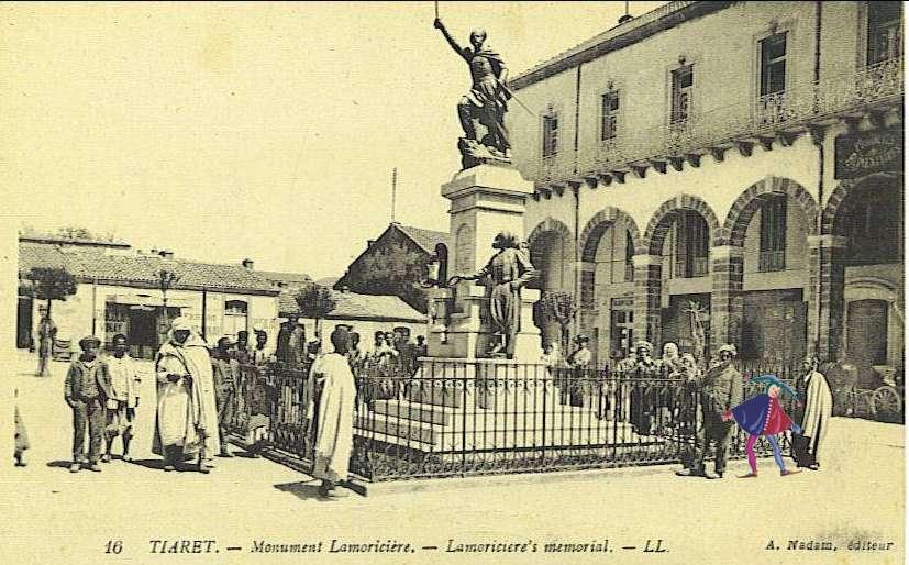 tiaret,monument lamoriciere