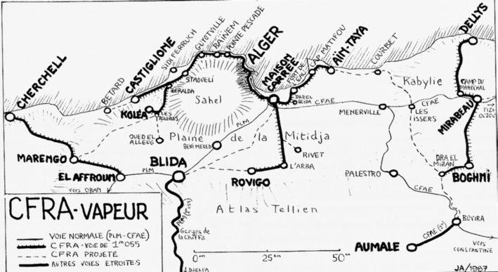 Les chemins de fer algeriens de l'etat;http://alger-roi.fr