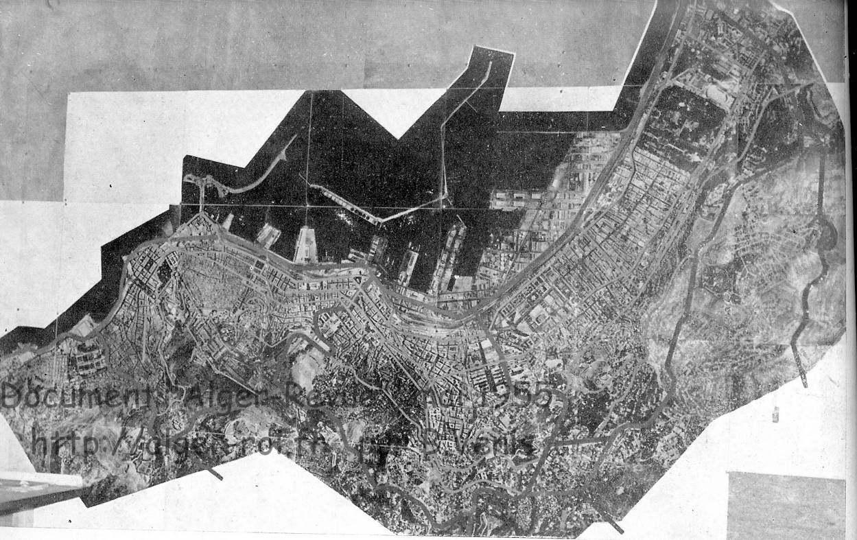 Le bureau du plan de la ville d alger sur alger roi venis